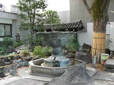 本能寺 池